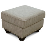 Pearson Ottoman with Nails