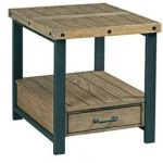 Workbench Rectangular End Table