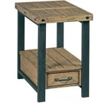Workbench Chairside Table