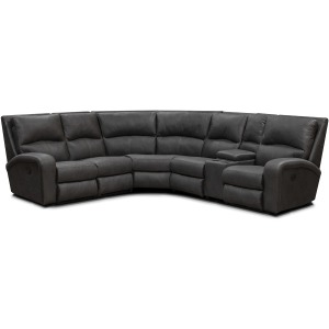 6 PC Reclining Sectional w/Articulating Headrests