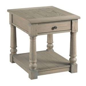 Outland Rectangular End Table