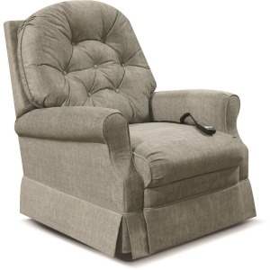Marisol Swivel Gliding Recliner w/handle