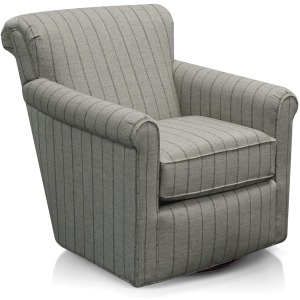 Cunningham Swivel Chair with Nails