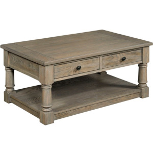 Outland Rectangular Cocktail Table w/Drawer