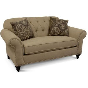 Stacy Loveseat w/Nails