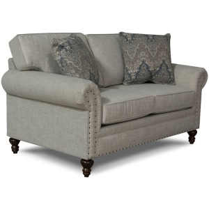 Renea Loveseat w/Nails