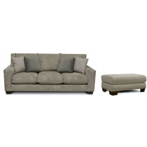 Luckenbach Sofa & Ottoman Set