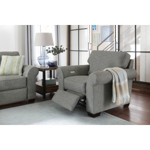 Wallace Chair with Power Ottoman