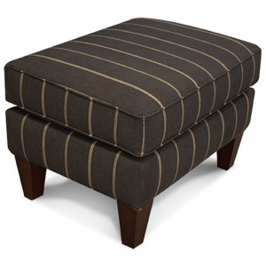 Shipley Ottoman with Nails