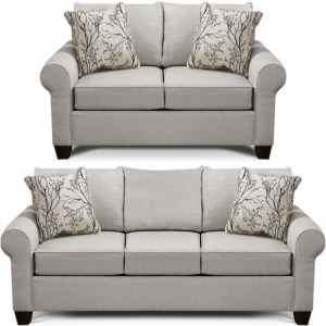 Clementine 2 PC Sofa & Loveseat Set