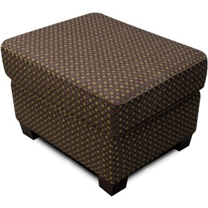 Jakson Ottoman with Nailhead Trim