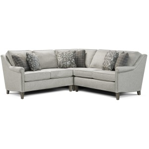 Ella 2 PC Sectional with Nails