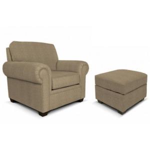Brett Chair & Ottoman