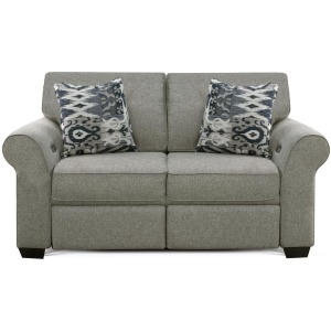 Loveseat w/ Power Ottoman