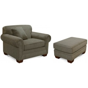 MONROE CHAIR AND OTTOMAN