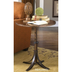 Mercantile Round Accent Table