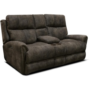EZ9C Double Reclining Loveseat Console