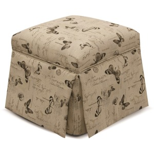 Darlington Storage Ottoman