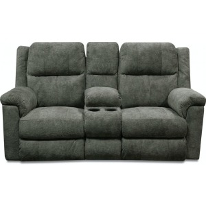 Double Reclining Loveseat Console