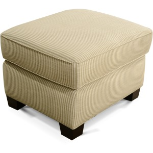 Cunningham Ottoman with Nailhead Trim