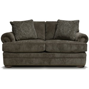 Knox Loveseat with Nailhead