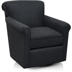 Jakson Swivel Chair with Nails
