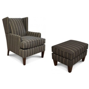 Shipley Arm Chair & Ottoman