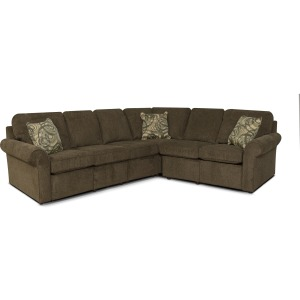 Malibu 4 PC Power Reclining Sectional