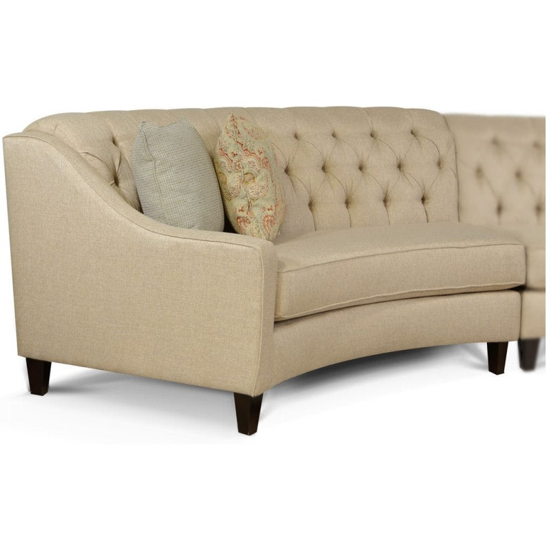 Tremendous Finneran Left Arm Facing Angled Sofa By England Furniture Theyellowbook Wood Chair Design Ideas Theyellowbookinfo