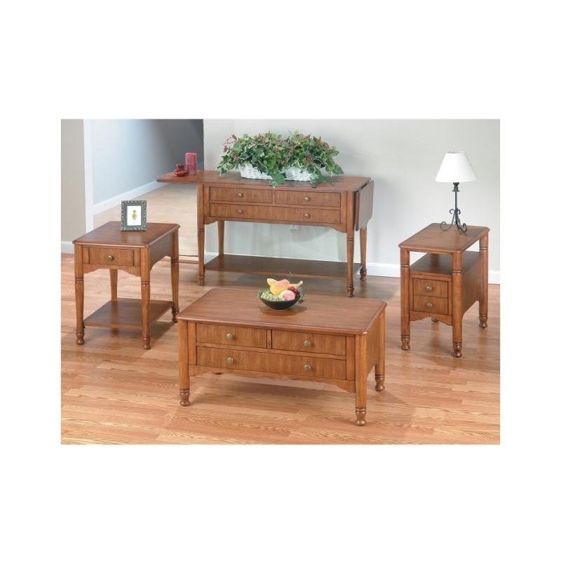 J699-4 Drop Leaf Sofa Table