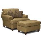 Fabric Chair & 1/2