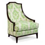 6009-01 Fabric  Lounge Chair