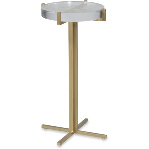 Lindsay Acrylic Top Drink Table