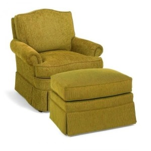 Fabric Lounge Chair
