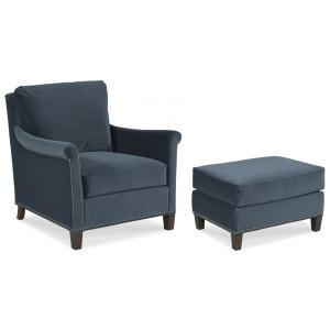 Olivia Lounge Chair & Ottoman