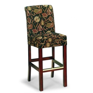 Fabric Bar Stool
