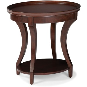 Belmont Oval End Table
