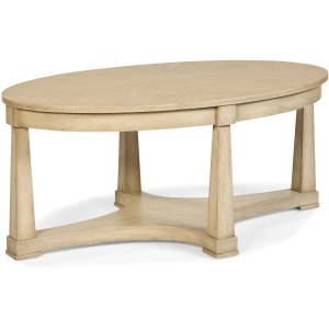 Genesis Oval Cocktail Table