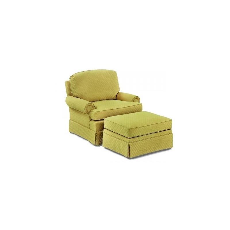 1436-01 Fabric Lounge Chair