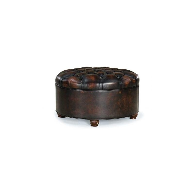 Marvelous Leather Ottoman By Fairfield Chair Company 1615 20 Andrewgaddart Wooden Chair Designs For Living Room Andrewgaddartcom