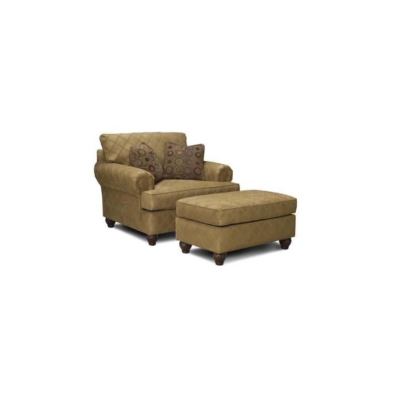 3738-21 Fabric Chair & 1/2