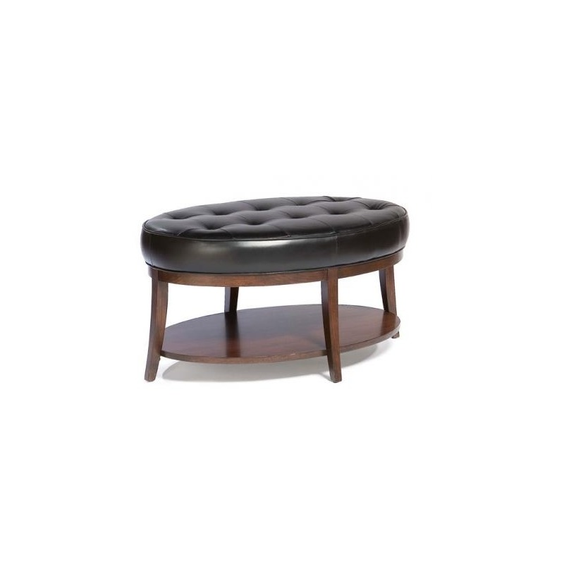 Superb Leather Cocktail Ottoman By Fairfield Chair Company 8120 Andrewgaddart Wooden Chair Designs For Living Room Andrewgaddartcom