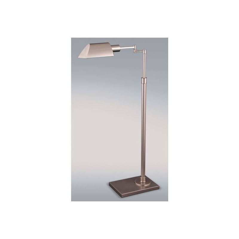 36-46 Inch Satin Nickel Metal Table Lamp