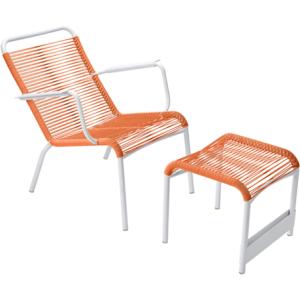 SAINT-TROPEZ Armchair and Footrest