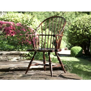 American Cherry Rhode Island Windsor Arm Chair