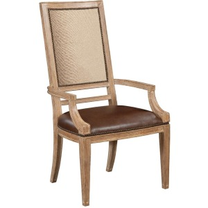 Ancestry Upholstered Back Dining Arm Chair