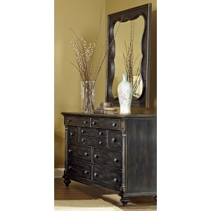 Fairmont Drawer Dresser & Bexley Mirror