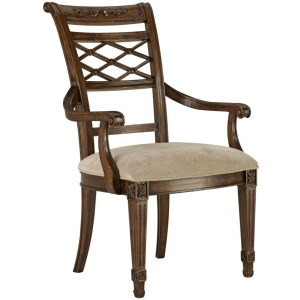 Biltmore Lattice Arm Dining Chair