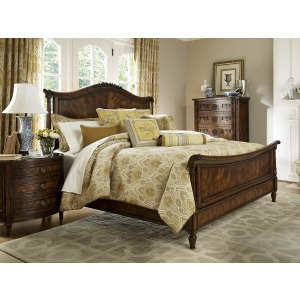 Biltmore  Panel Sleigh King Bed