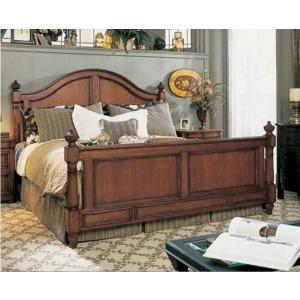 Carolinius Panel Bed, King King
